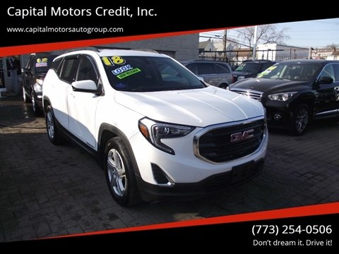 2018 GMC Terrain for sale at Capital Motors Credit, Inc. in Chicago IL
