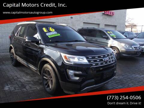 2016 Ford Explorer for sale at Capital Motors Credit, Inc. in Chicago IL