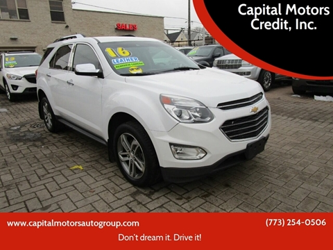 2016 Chevrolet Equinox for sale at Capital Motors Credit, Inc. in Chicago IL