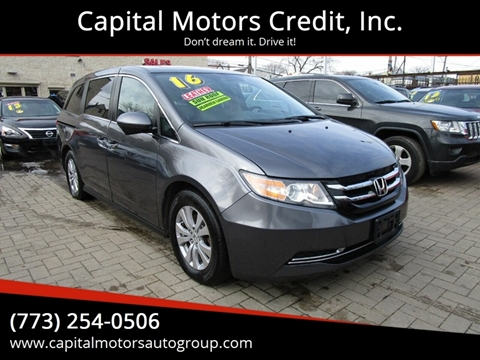 2016 Honda Odyssey for sale at Capital Motors Credit, Inc. in Chicago IL