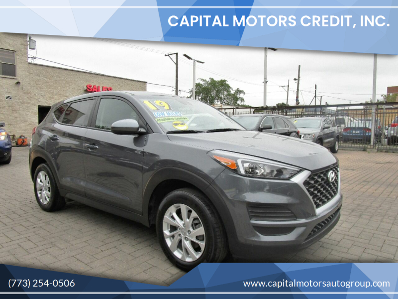 2019 Hyundai Tucson for sale at Capital Motors Credit, Inc. in Chicago IL