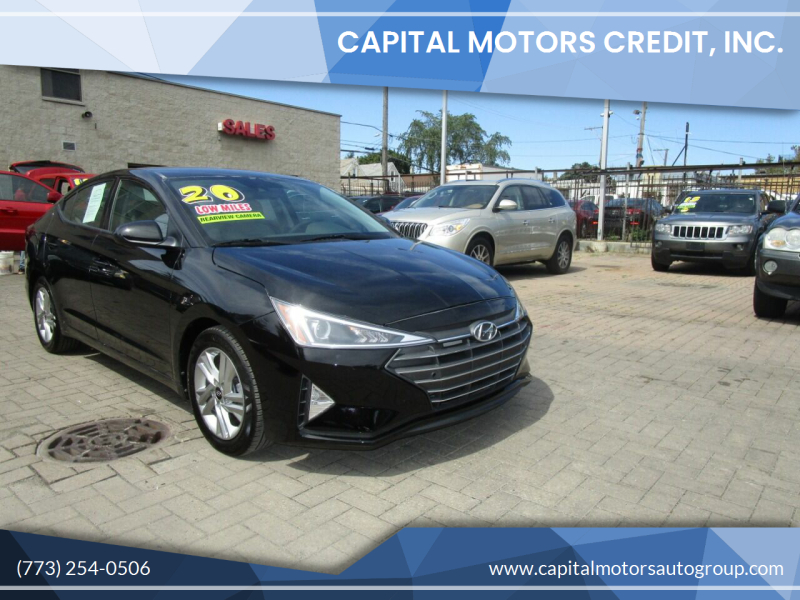 2020 Hyundai Elantra for sale at Capital Motors Credit, Inc. in Chicago IL