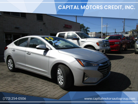 2019 Hyundai Elantra for sale at Capital Motors Credit, Inc. in Chicago IL