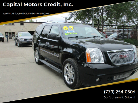2009 GMC Yukon for sale at Capital Motors Credit, Inc. in Chicago IL