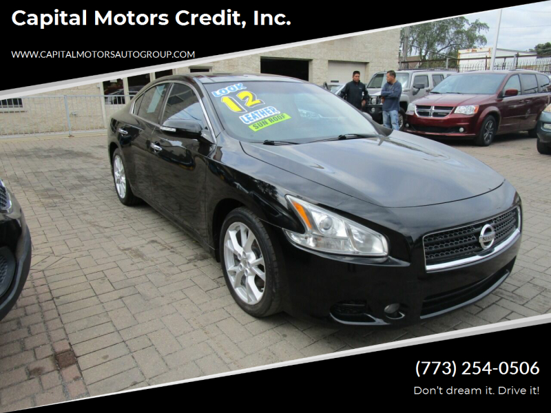 2012 Nissan Maxima for sale at Capital Motors Credit, Inc. in Chicago IL