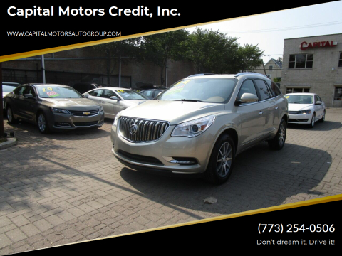 2014 Buick Enclave for sale at Capital Motors Credit, Inc. in Chicago IL