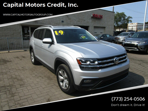 2019 Volkswagen Atlas for sale at Capital Motors Credit, Inc. in Chicago IL