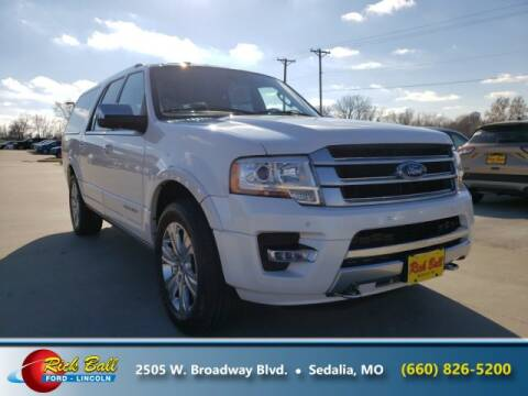 2016 Ford Expedition EL for sale at RICK BALL FORD in Sedalia MO