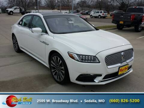 2020 Lincoln Continental for sale at RICK BALL FORD in Sedalia MO