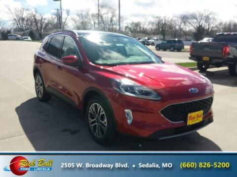 2020 Ford Escape for sale at RICK BALL FORD in Sedalia MO