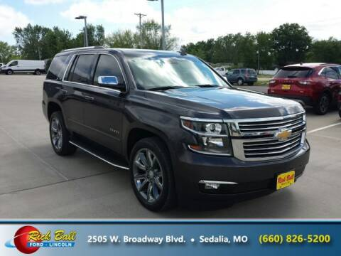 2015 Chevrolet Tahoe for sale at RICK BALL FORD in Sedalia MO