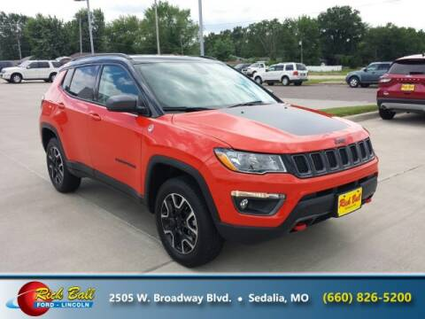 2020 Jeep Compass for sale at RICK BALL FORD in Sedalia MO