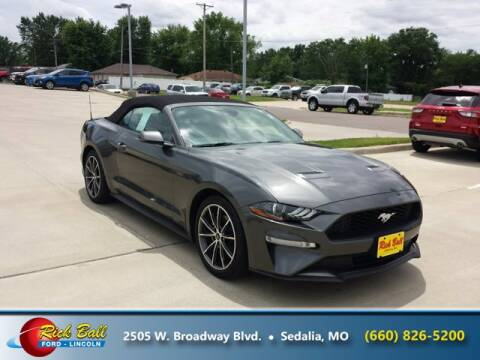 2019 Ford Mustang for sale at RICK BALL FORD in Sedalia MO