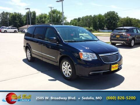 2016 Chrysler Town and Country for sale at RICK BALL FORD in Sedalia MO