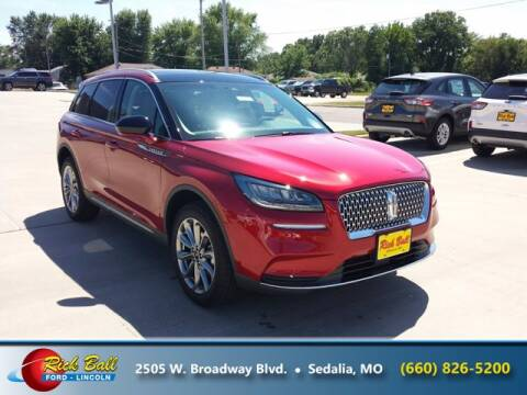 2020 Lincoln Corsair for sale at RICK BALL FORD in Sedalia MO