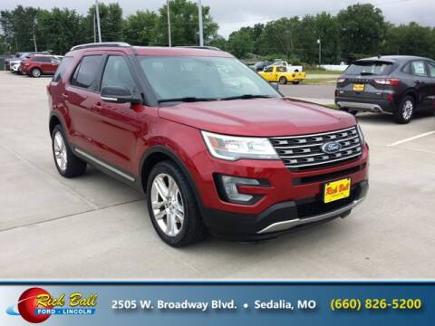 2017 Ford Explorer for sale at RICK BALL FORD in Sedalia MO
