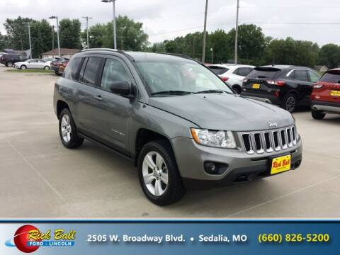 2012 Jeep Compass for sale at RICK BALL FORD in Sedalia MO