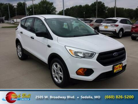 2017 Ford Escape for sale at RICK BALL FORD in Sedalia MO