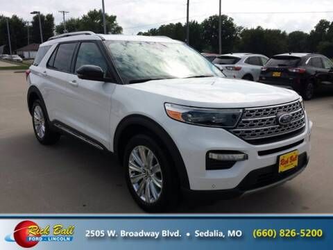 2020 Ford Explorer for sale at RICK BALL FORD in Sedalia MO