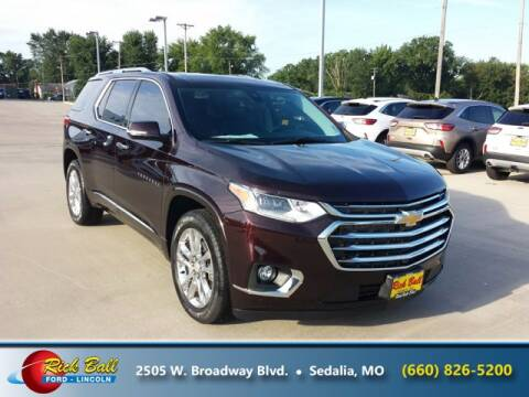 2020 Chevrolet Traverse for sale at RICK BALL FORD in Sedalia MO