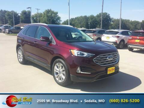 2019 Ford Edge for sale at RICK BALL FORD in Sedalia MO