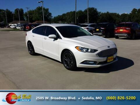 2018 Ford Fusion for sale at RICK BALL FORD in Sedalia MO