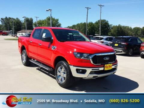2020 Ford Ranger for sale at RICK BALL FORD in Sedalia MO