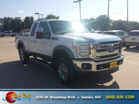 2012 Ford F-250 Super Duty for sale at RICK BALL FORD in Sedalia MO