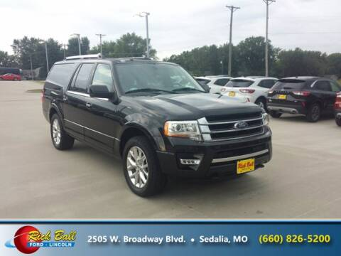 2015 Ford Expedition EL for sale at RICK BALL FORD in Sedalia MO