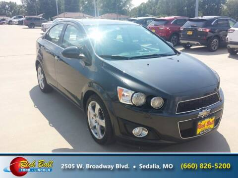 2015 Chevrolet Sonic for sale at RICK BALL FORD in Sedalia MO