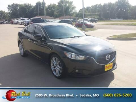 2017 Mazda MAZDA6 for sale at RICK BALL FORD in Sedalia MO