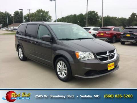 2016 Dodge Grand Caravan for sale at RICK BALL FORD in Sedalia MO