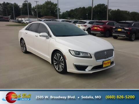 2017 Lincoln MKZ for sale at RICK BALL FORD in Sedalia MO