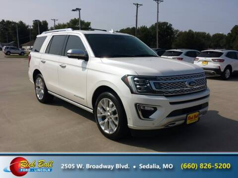 2018 Ford Expedition for sale at RICK BALL FORD in Sedalia MO