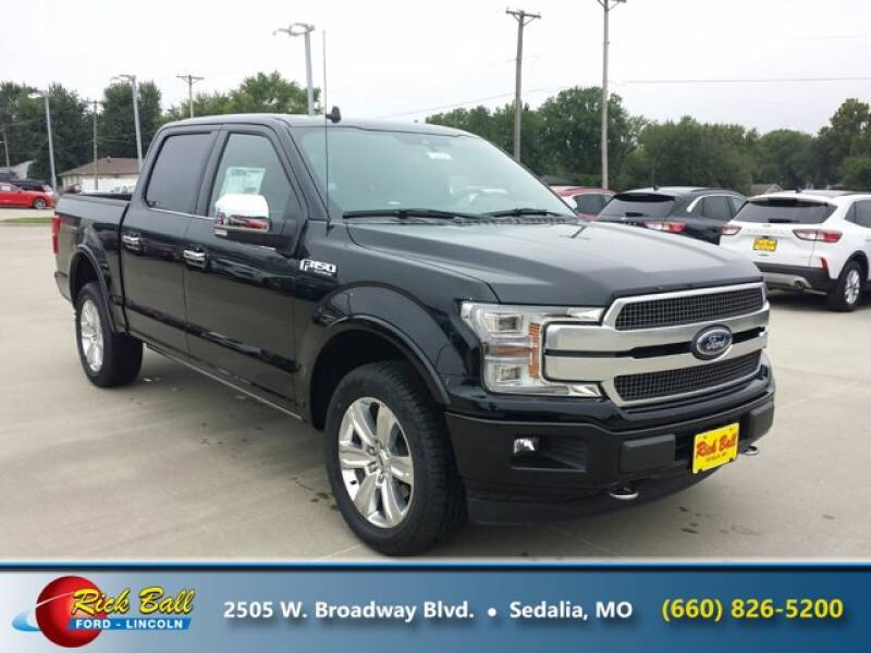 2020 Ford F-150 for sale at RICK BALL FORD in Sedalia MO