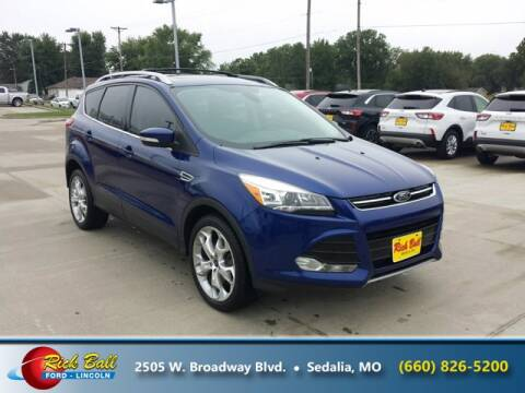 2013 Ford Escape for sale at RICK BALL FORD in Sedalia MO