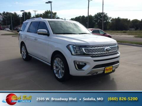 2019 Ford Expedition for sale at RICK BALL FORD in Sedalia MO