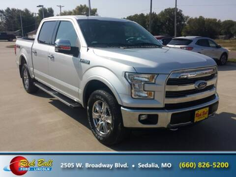 2015 Ford F-150 for sale at RICK BALL FORD in Sedalia MO