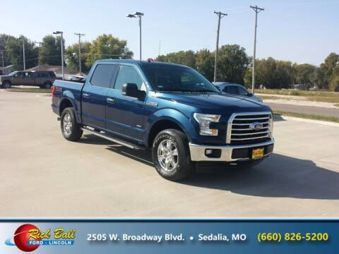 2017 Ford F-150 for sale at RICK BALL FORD in Sedalia MO
