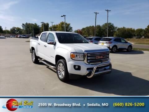 2017 GMC Canyon for sale at RICK BALL FORD in Sedalia MO