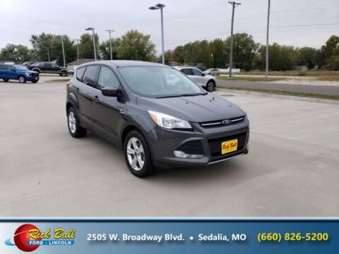 2016 Ford Escape for sale at RICK BALL FORD in Sedalia MO