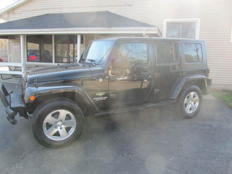 2008 Jeep Wrangler Unlimited for sale at Best Buy Auto Sales of Northern IL in South Beloit IL
