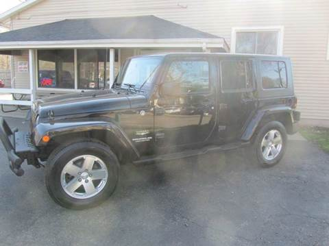 2008 Jeep Wrangler Unlimited for sale at Best Buy Auto Sales in South Beloit IL