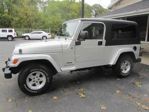 2005 Jeep Wrangler for sale at Best Buy Auto Sales in South Beloit IL