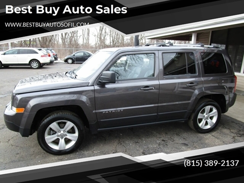 2015 Jeep Patriot for sale at Best Buy Auto Sales in South Beloit IL