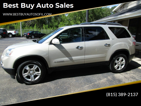 2008 GMC Acadia for sale at Best Buy Auto Sales in South Beloit IL