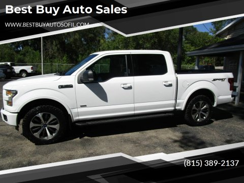 2015 Ford F-150 for sale at Best Buy Auto Sales in South Beloit IL
