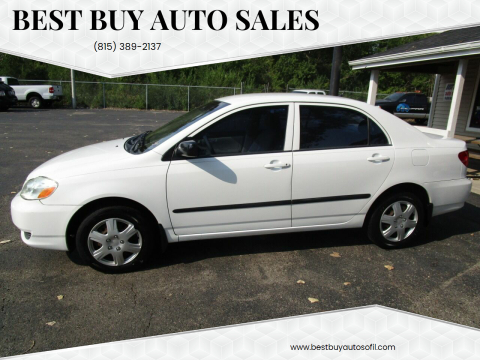 2003 Toyota Corolla for sale at Best Buy Auto Sales in South Beloit IL