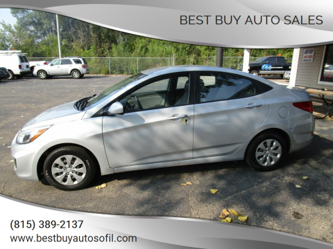 2015 Hyundai Accent for sale at Best Buy Auto Sales in South Beloit IL