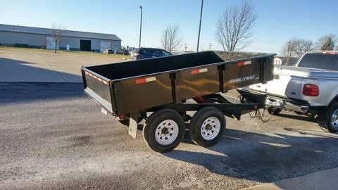 2011 Sure-Trac 6x10 dump trailer